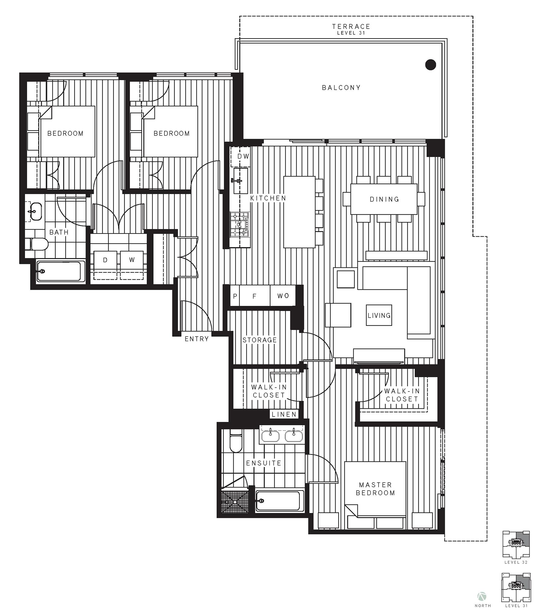Maywood Floorplan PH1