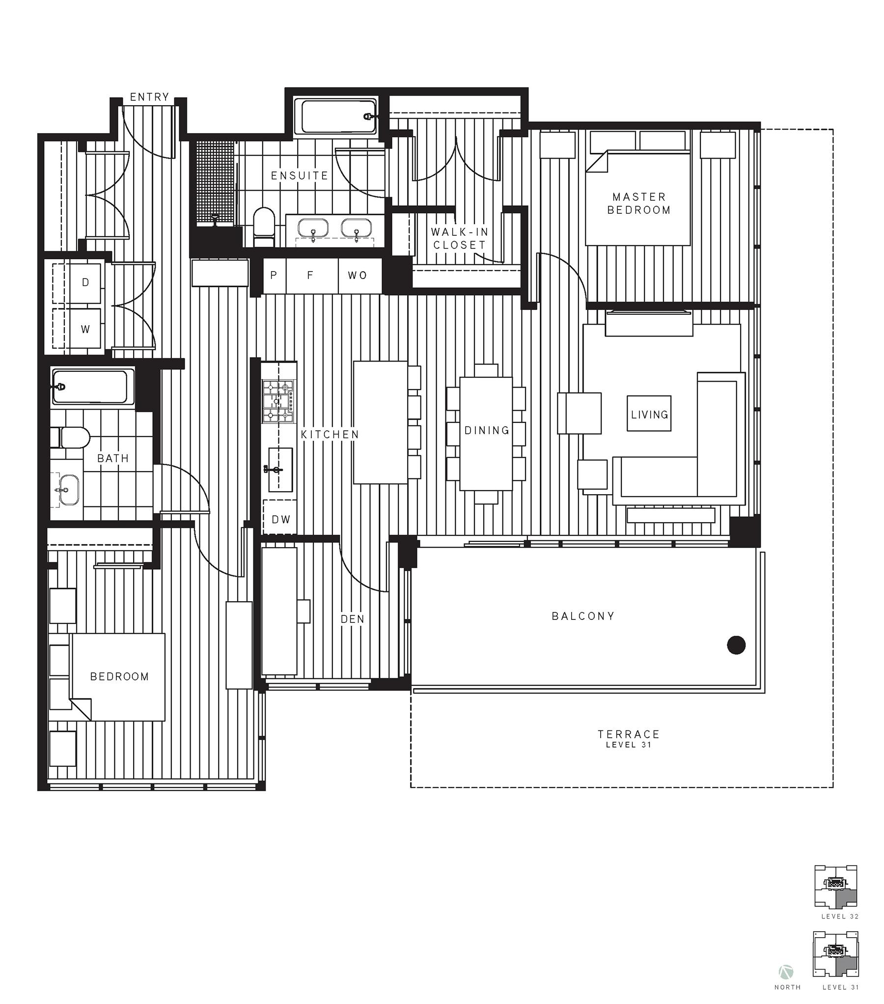 Maywood Floorplan PH3