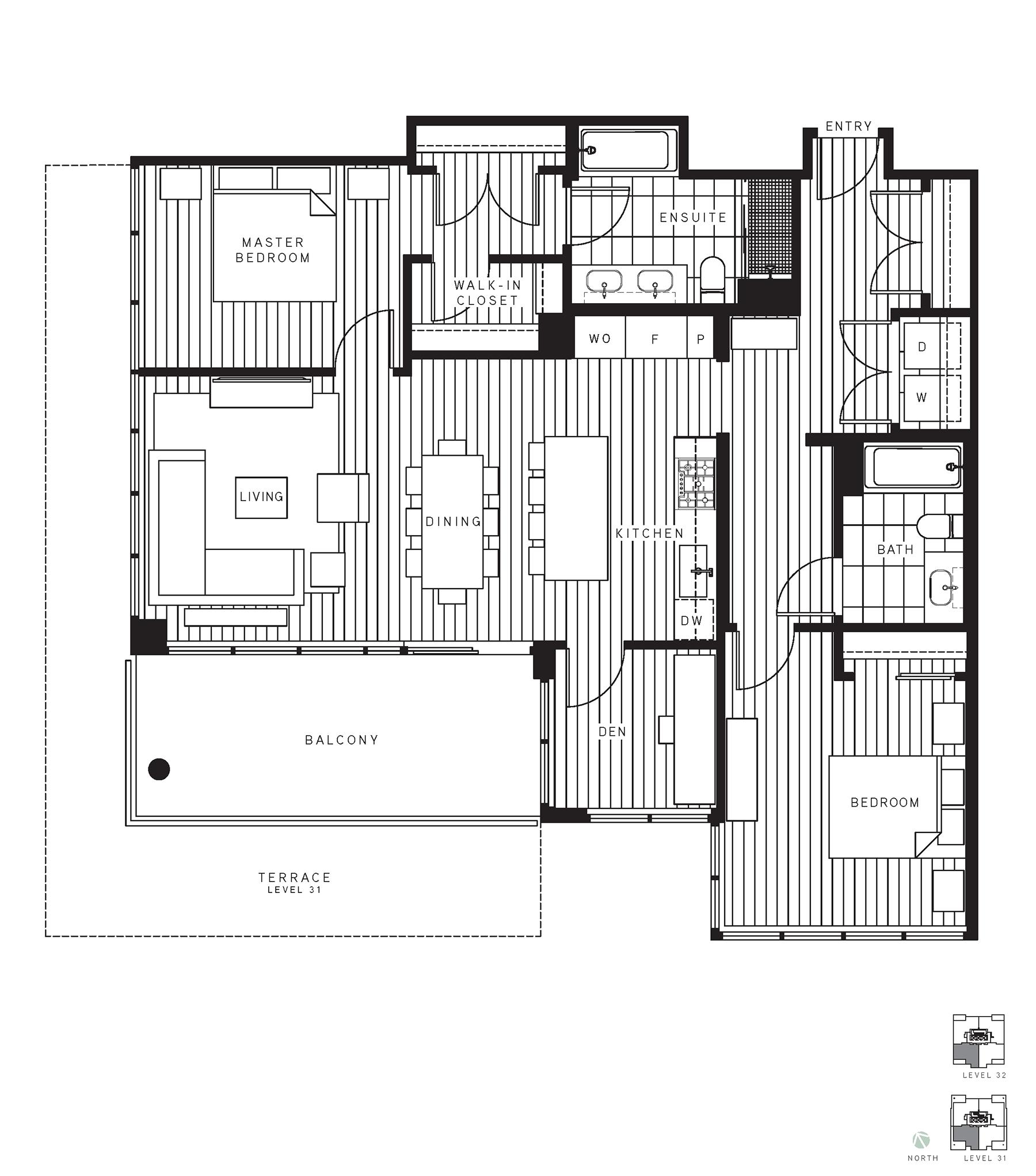 Maywood Floorplan PH4